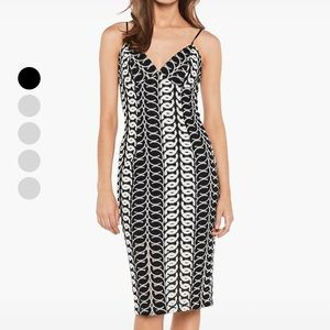 Bardot Germaine Lace Dress in Multi